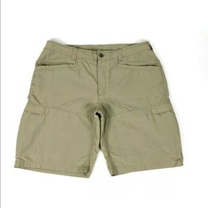 The North Face Cargo Shorts Mens Size 36 W Khaki